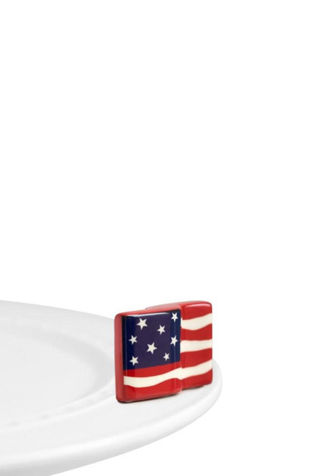 Nora Fleming American Flag Mini - Front Cropped Image
