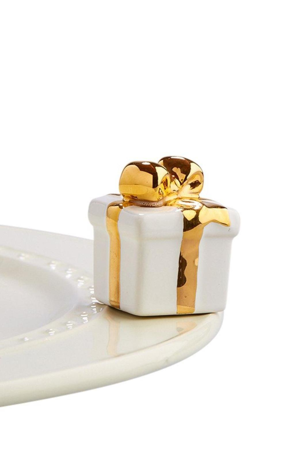 Nora Fleming White Gift - Front Cropped Image