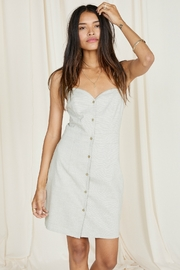 SAGE THE LABEL NORAH BUTTON FRONT DRESS - Product Mini Image