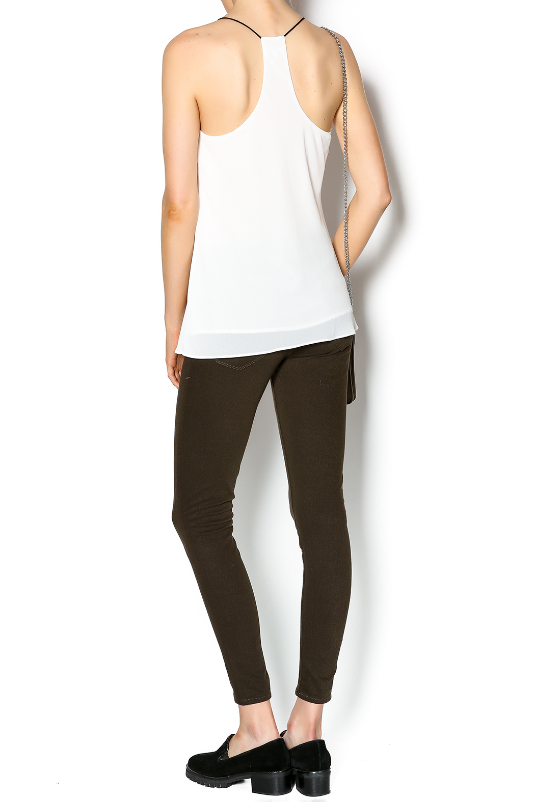 Norah Off White Top - Side Cropped Image