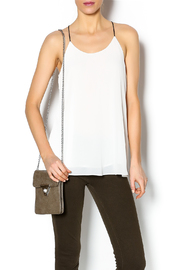 Norah Off White Top - Front cropped