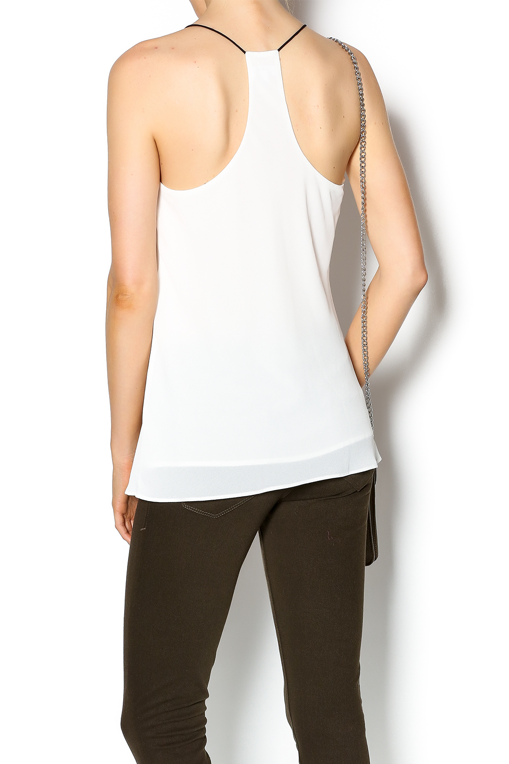 Norah Off White Top - Back Cropped Image