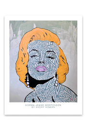 Avery Rowan Art Norma Jeane Mortenson Print - Product Mini Image