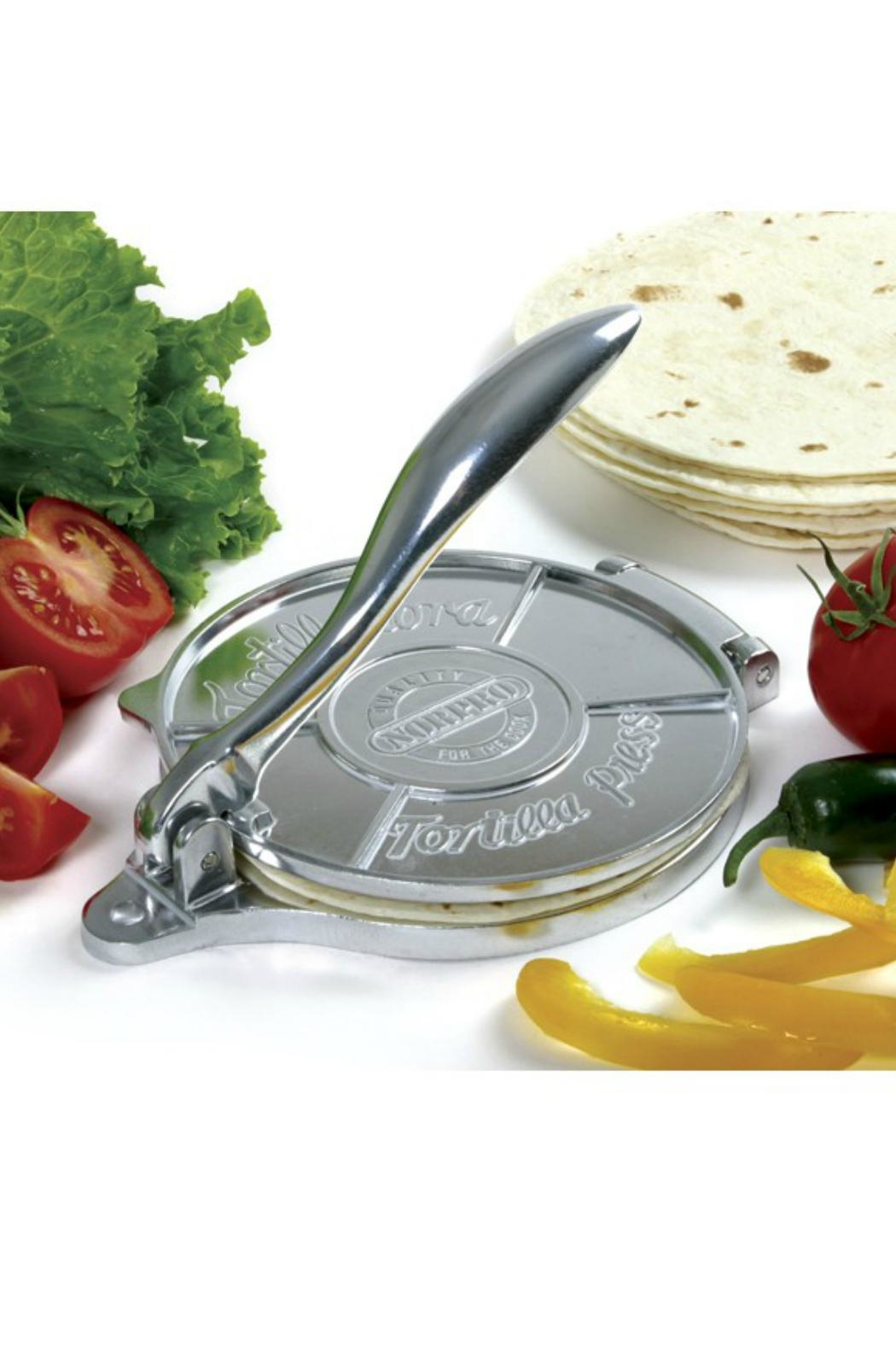 Norpro Deluxe Tortilla Press - Side Cropped Image