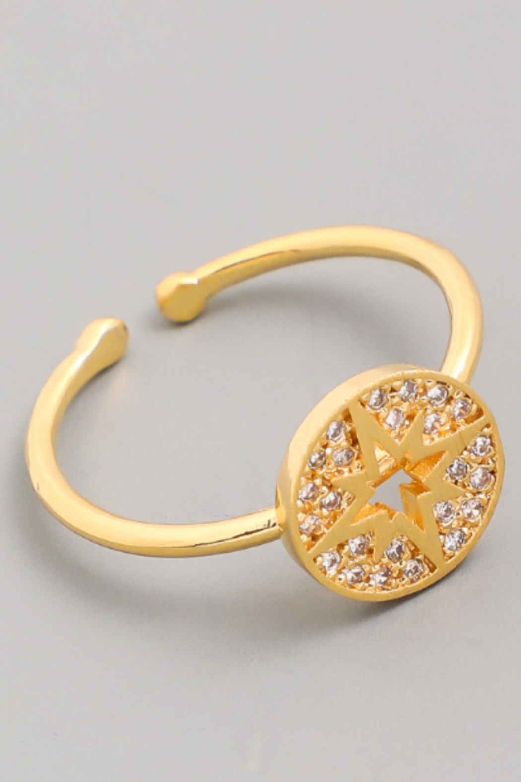 FAME ACCESORIES North Star Ring - Main Image