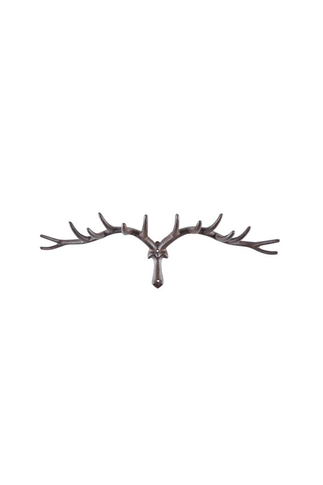 North American Country Home Antler Coat Rack - Main Image