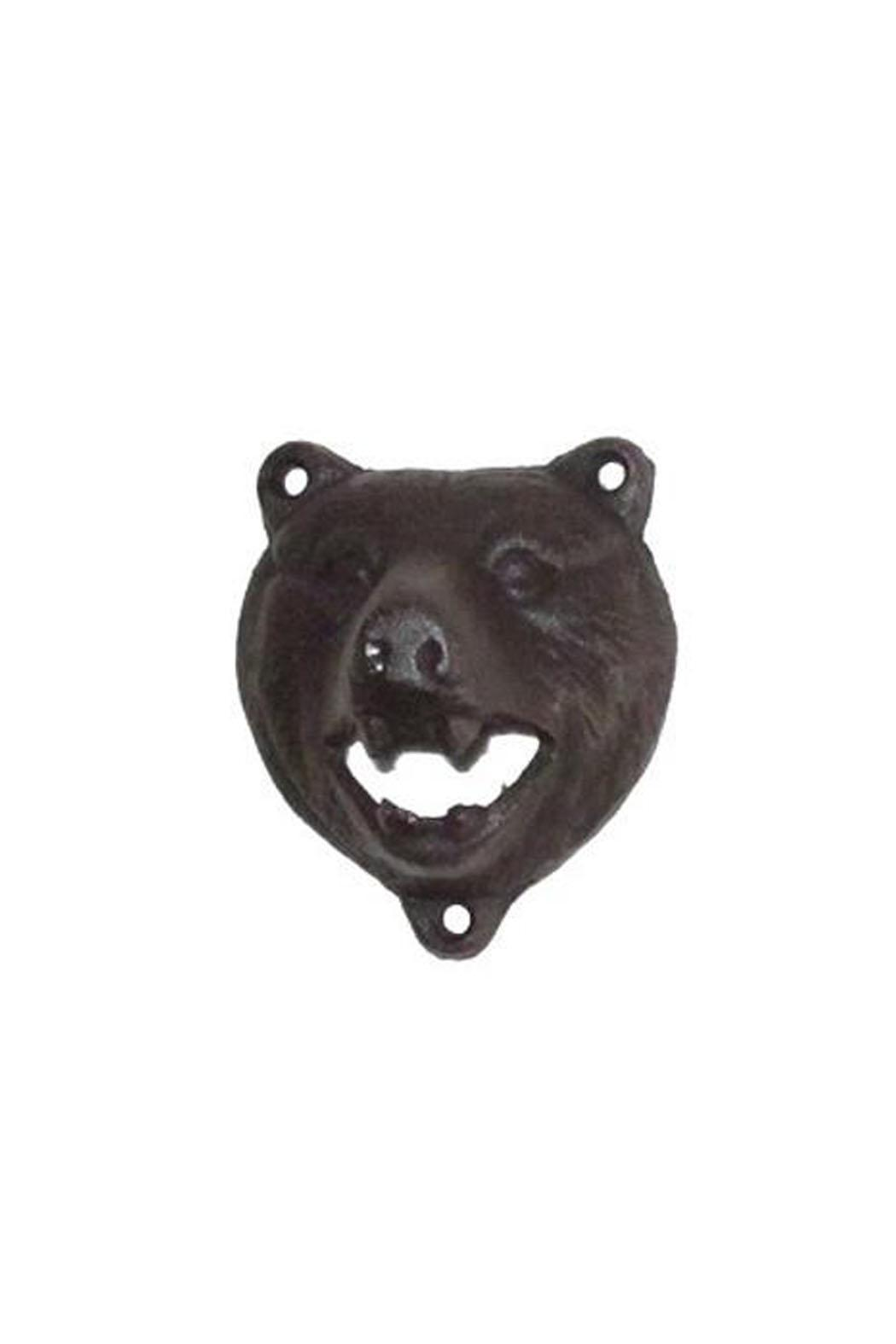 North American Country Home Bear Head Opener - Main Image