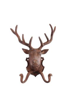 North American Country Home Deer Wall Hook - Product List Image