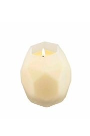 Northern Lights Beeswax Candle - Front full body