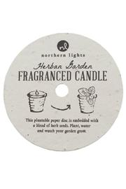 Northern Lights Fragrance Candle Herbal Garden - Front full body