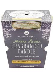 Northern Lights Fragrance Candle Herbal Garden - Front cropped