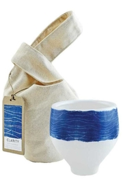 Northern Lights Shibori Bowl Clarity - Front cropped