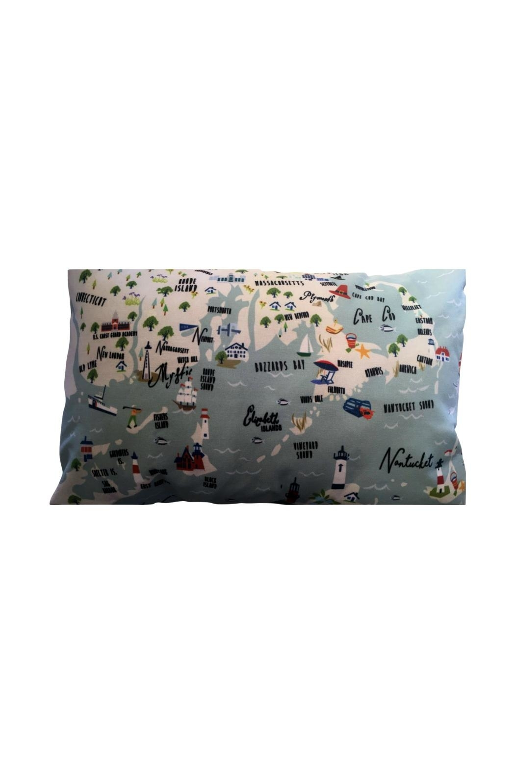 GALLEYWARE Northernshore Decorative Pillow - Front Full Image