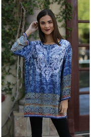Nostalgia Embroidered Patterned Top - Product Mini Image