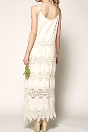Nostalgic Threads Crochet Lace Maxi - Side cropped