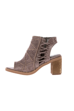 Shoptiques Product: Taupe Block Heel Bootie