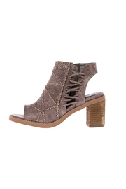 Not Rated Taupe Block Heel Bootie - Product Mini Image