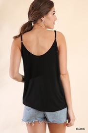 Umgee USA Not-Your-Average Black Top - Side cropped