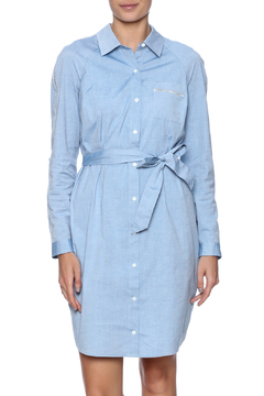 Shoptiques Product: Blue Chambray Dress