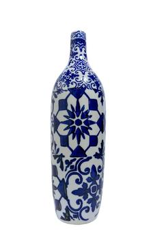 Shoptiques Product: Blue White Vase
