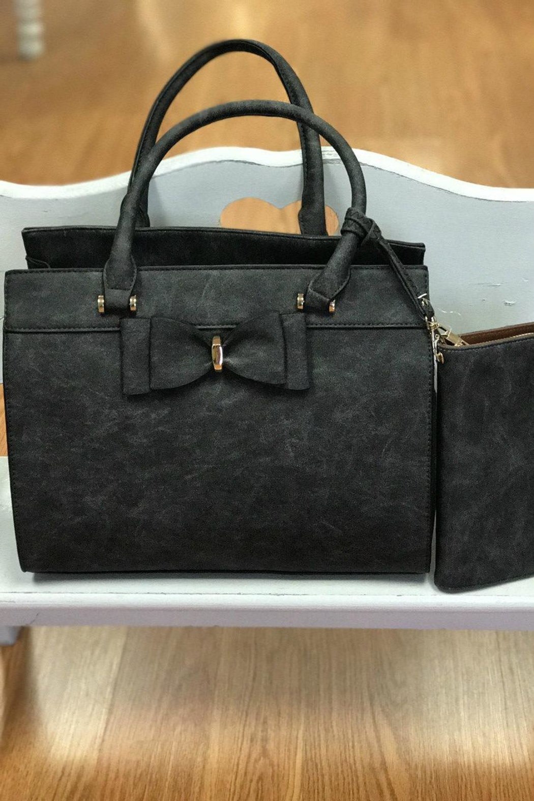 Not Listed Bow Handbag/wallet - Front Cropped Image