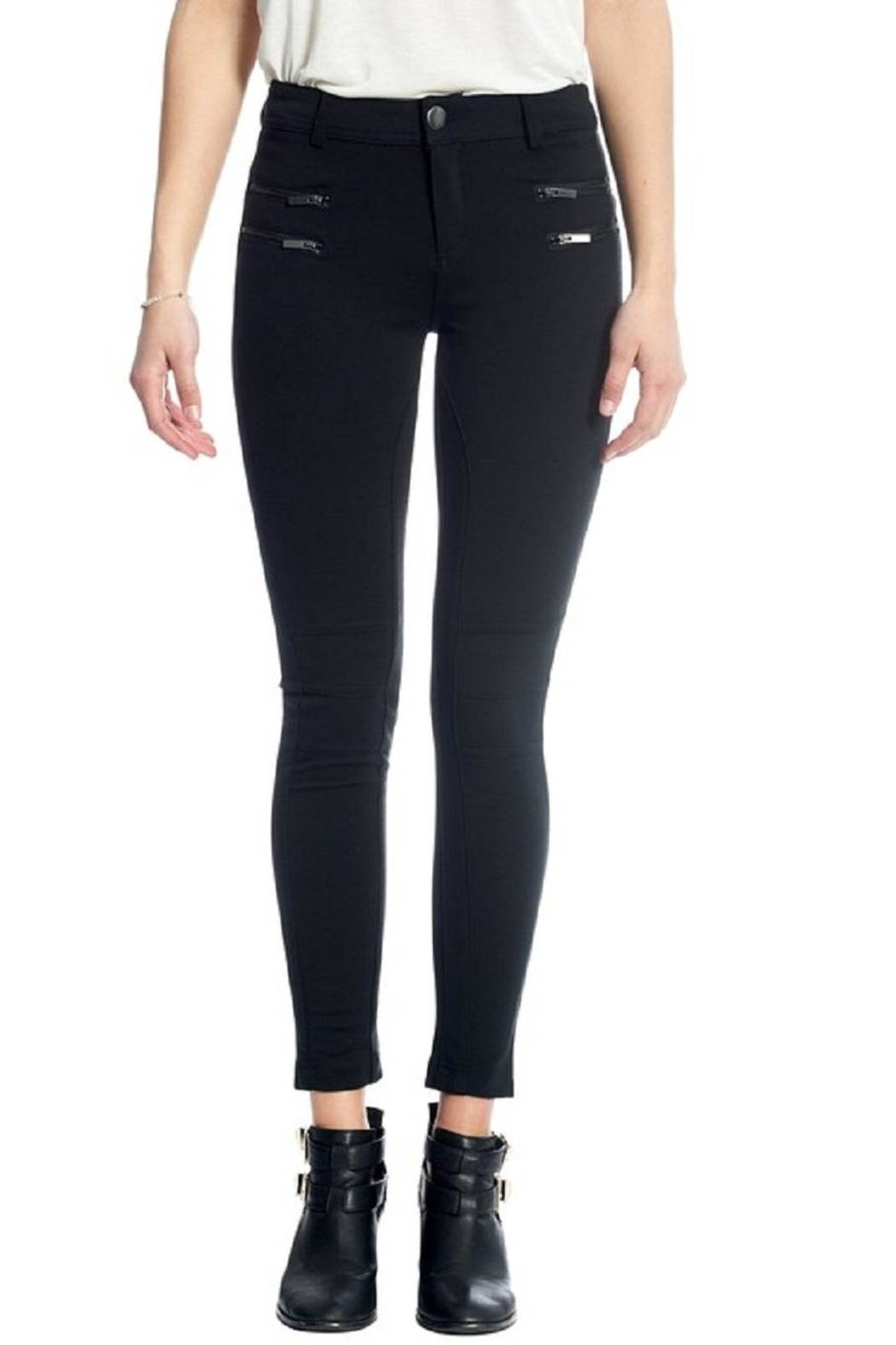 Not Listed Knee-Stitch Ponte Leggings - Main Image