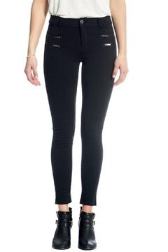 Shoptiques Product: Knee-Stitch Ponte Leggings