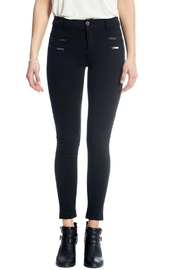 Not Listed Knee-Stitch Ponte Leggings - Front cropped
