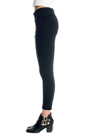 Not Listed Zippered Ponte Legging - Side cropped