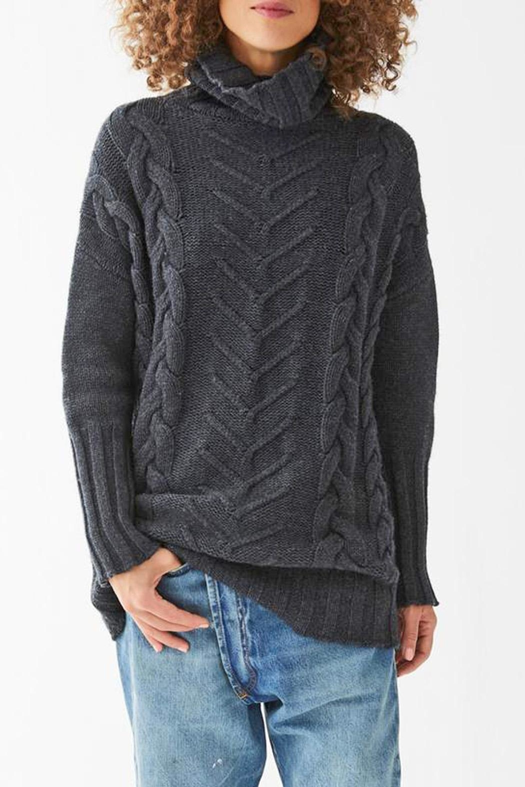Not Monday James Cable Pullover - Main Image