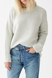 Not Monday Mila Crewneck Sweater - Front full body