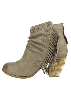Not Rated Angie Fringe Bootie - Product List Image