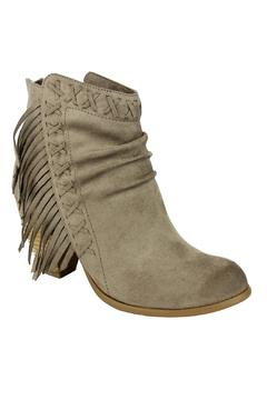 Not Rated Angie Fringe Bootie - Alternate List Image