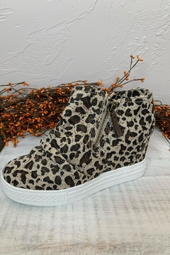 Not Rated Arabelle Leopard Sneakers - Product List Image