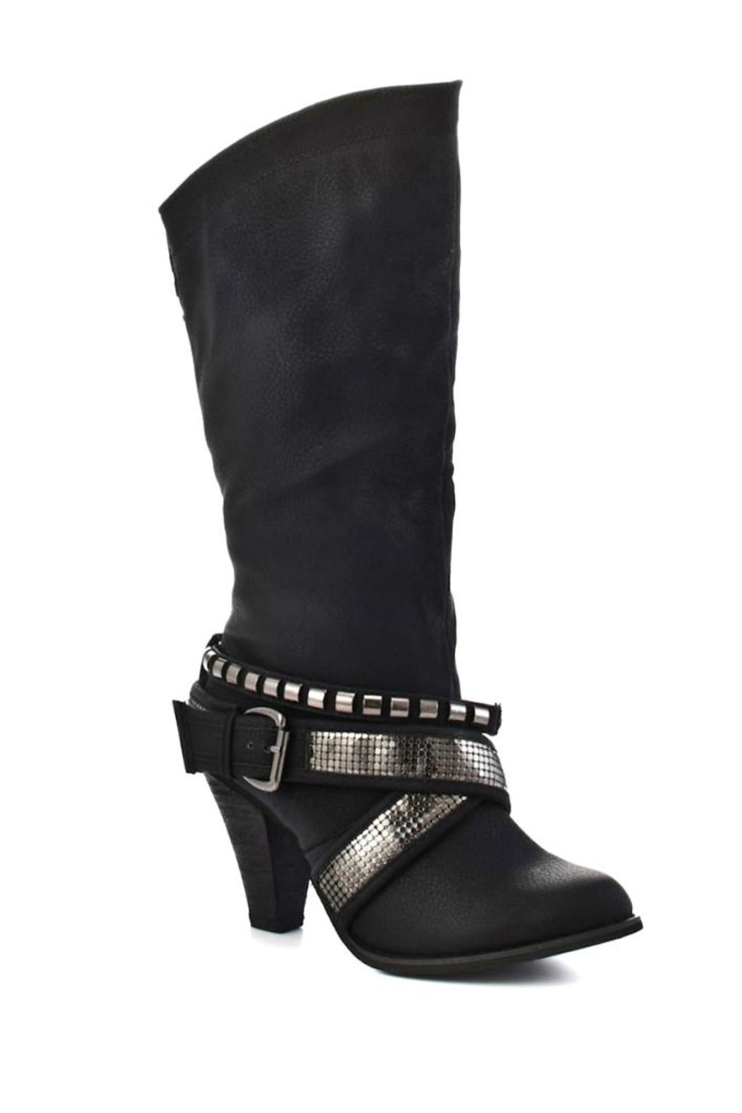 Not Rated Electricfying Black Boot - Front Full Image