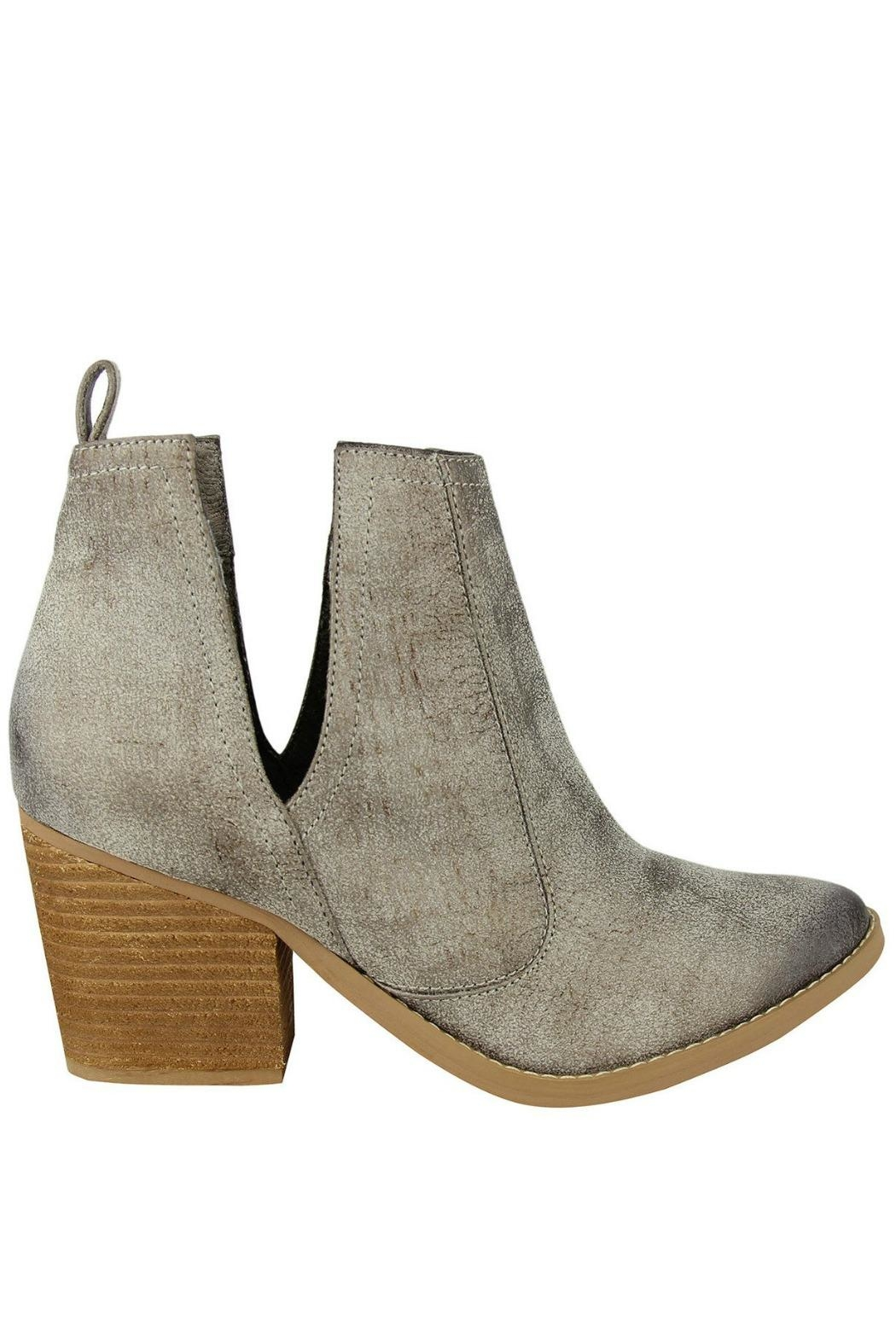 Not Rated Grey Shea Bootie - Main Image