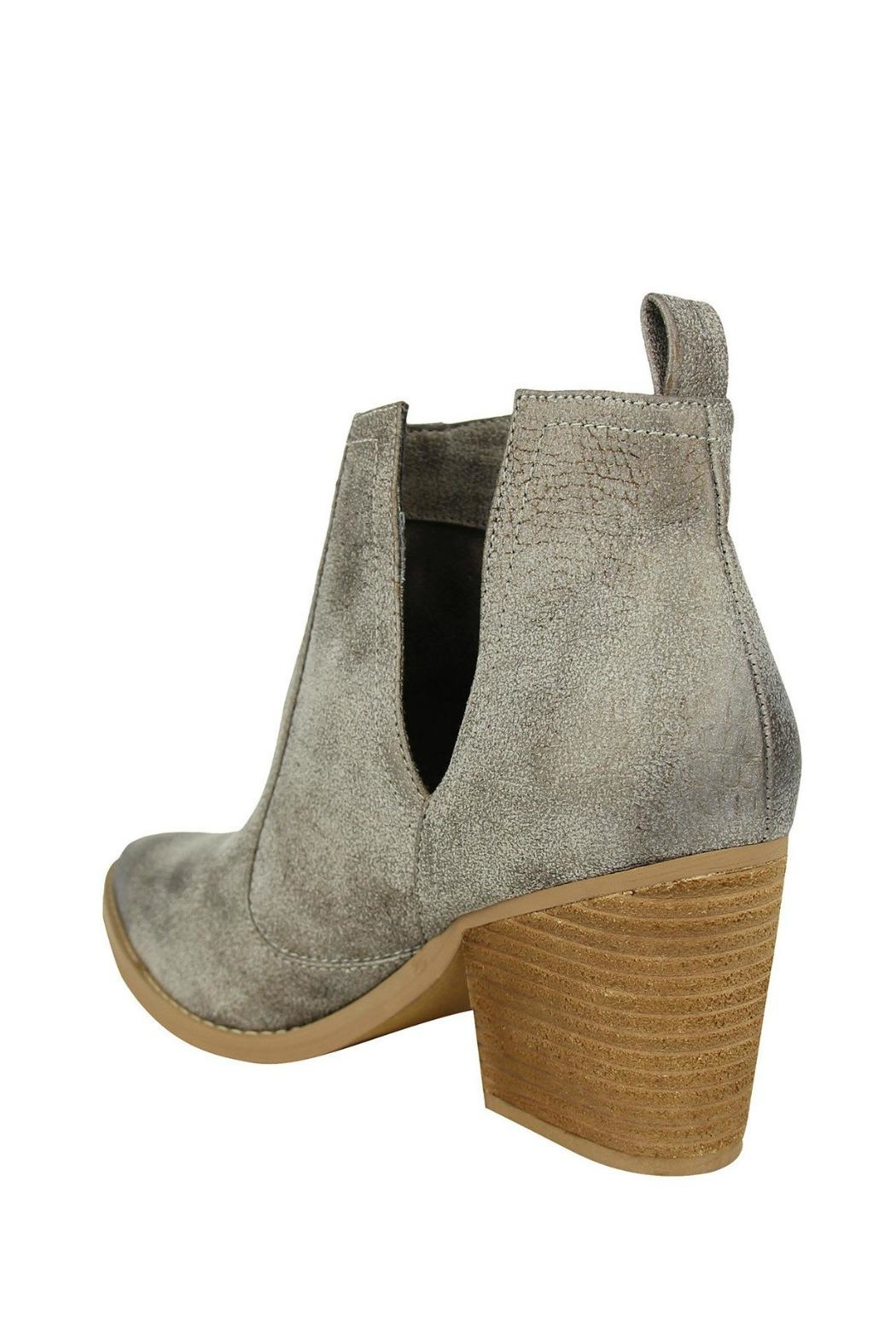 Not Rated Grey Shea Bootie - Front Full Image