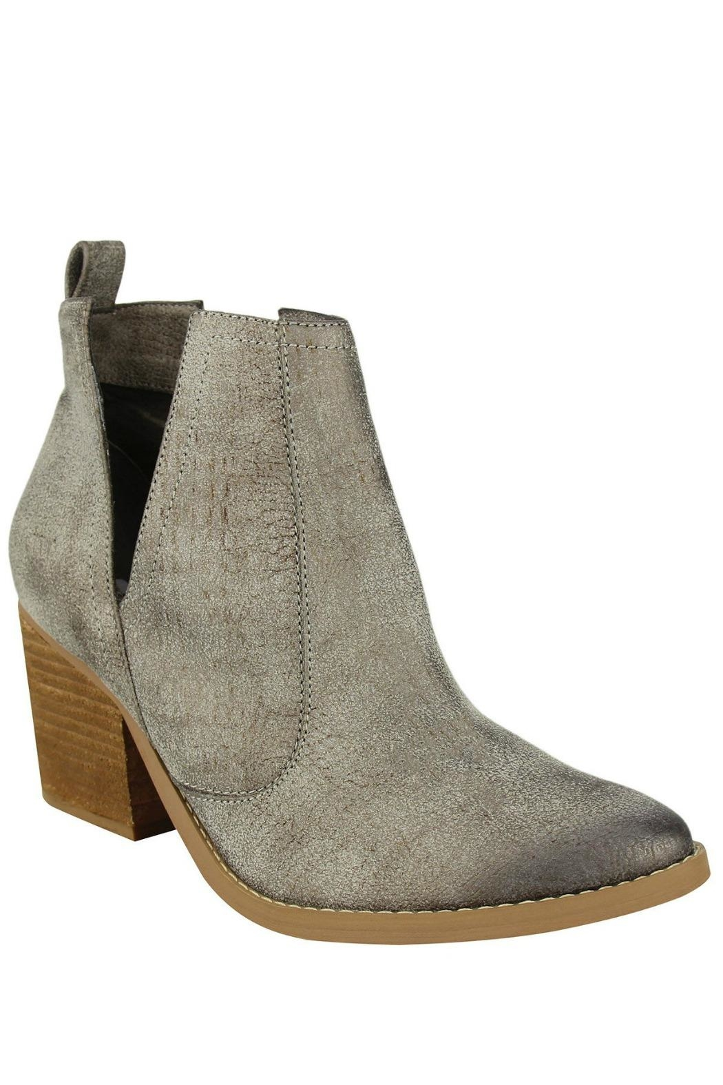 Not Rated Grey Shea Bootie - Side Cropped Image