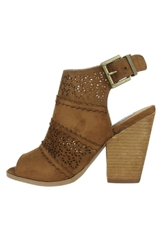 Shoptiques Product: Stacked Heel Peep Toe