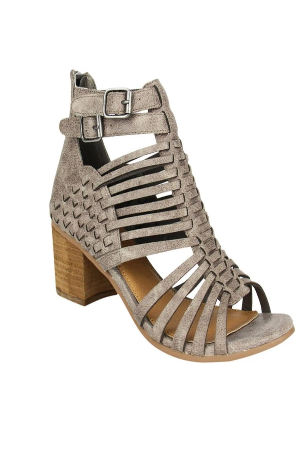 Not Rated Strappy Heel Sandal - Main Image