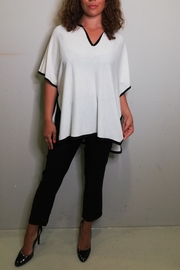 Not Shy Poncho Tunica - Front cropped