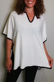 Not Shy Poncho Tunica - Front full body