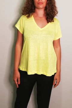 Not Shy Sol Linnen T-Shirt - Product List Image