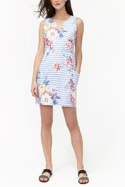 Joules Notch Neck Dress - Front cropped
