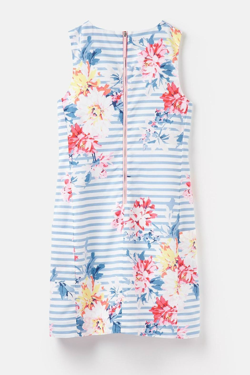 Joules Notch Neck Dress - Back Cropped Image