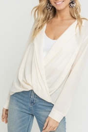 ALB Anchorage Notched Lapel-Collar Blouse - Product Mini Image