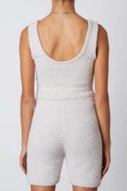 NIA Notched Sweater Tank - Front full body