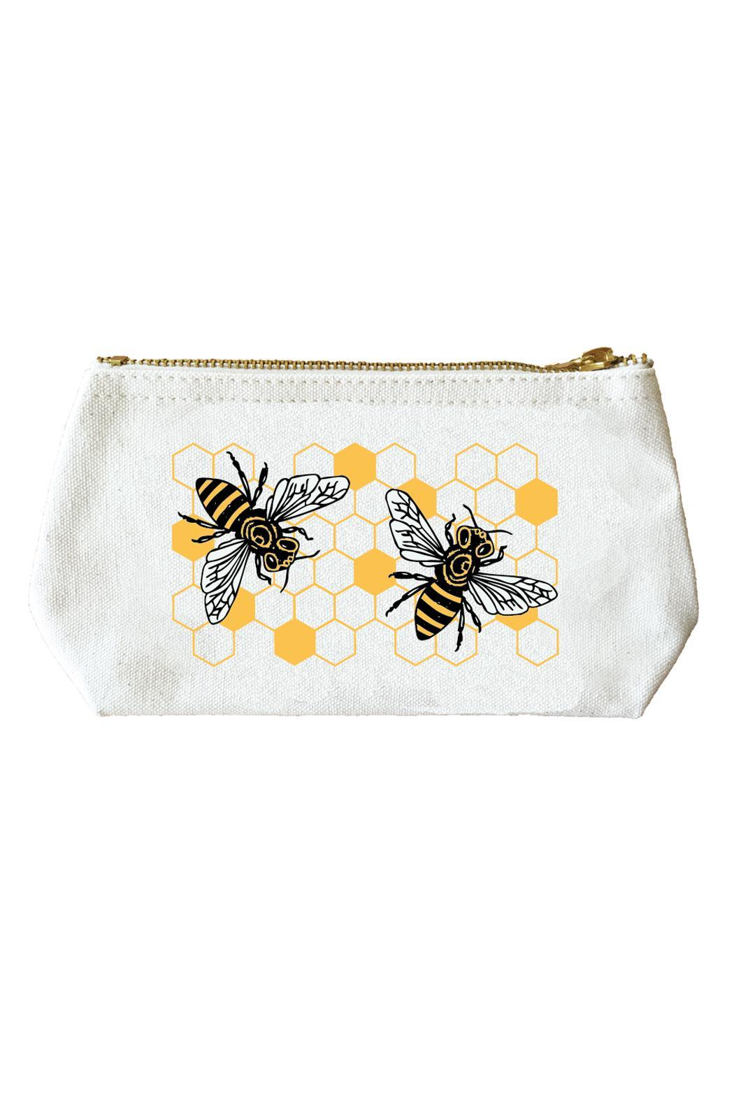 Noteworthy Paper & Press Bees Zip Pouch - Main Image