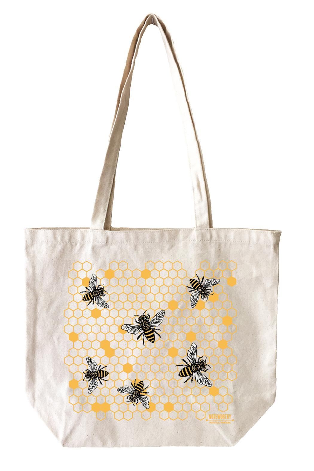 Noteworthy Paper & Press Honey Bees Tote - Front Cropped Image