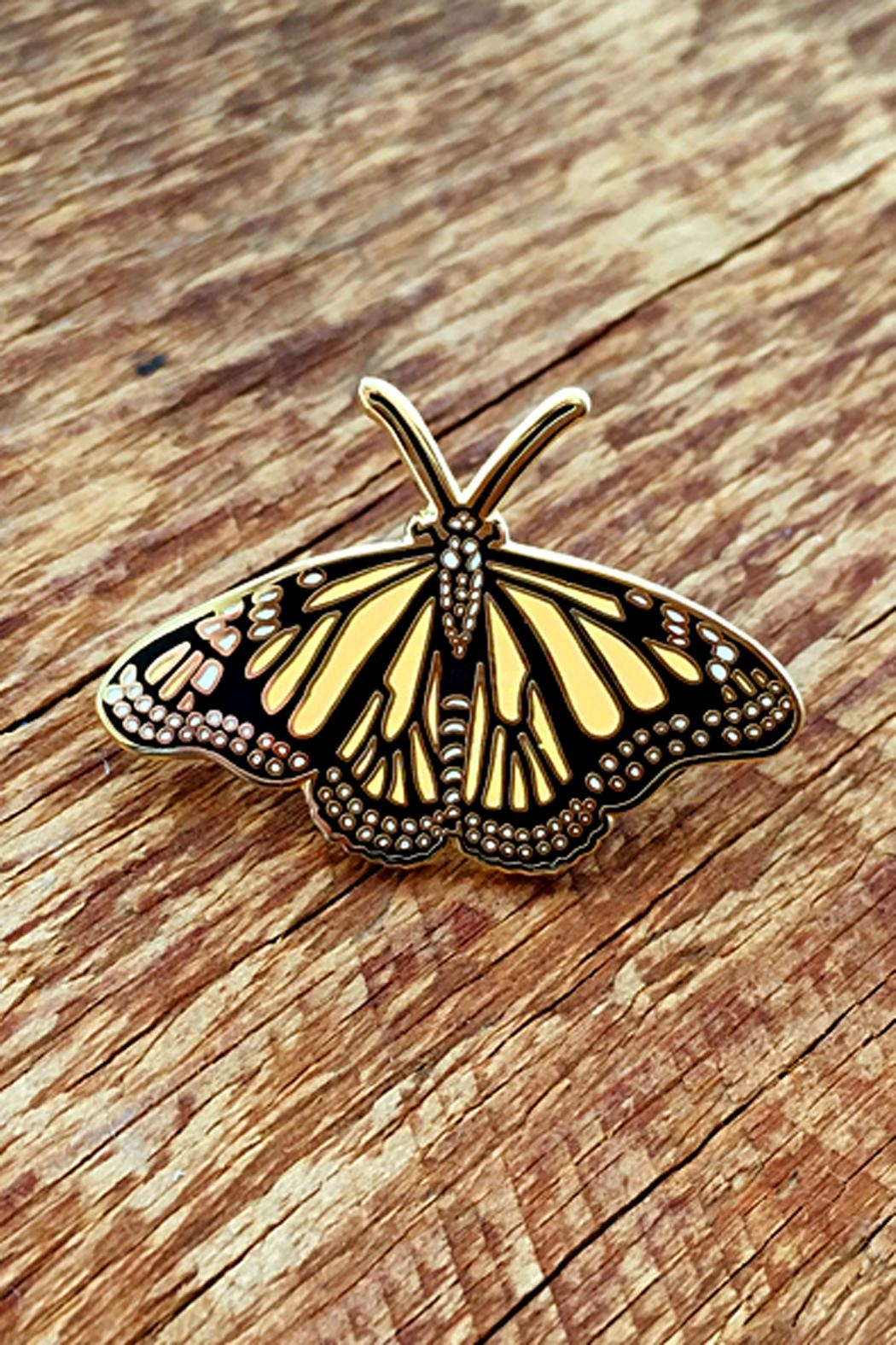 Noteworthy Paper & Press Monarch Butterfly Pin - Main Image